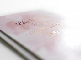 grafisch ontwerp trouwkaart Annemiek Volkers